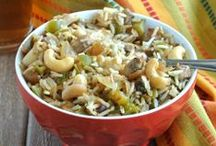 ~ Vegan Rice / Quinoa / Chickpeas ~ / by Ginny McMeans