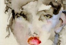 By Medium: Watercolor / Discover new pins featuring watercolor art by emerging contemporary artists from all over the world. Here you'll find original art that depicts portraits and landscapes done in watercolor- all available for sale at Saatchi Art.