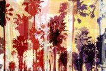 Palms and Pools / Discover new pins featuring palms and pools by emerging contemporary artists from all over the world. Here you'll find original works of art with an emphasis on sunny, poolside vibes - all available for sale at Saatchi Art.