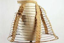 19th century : 1850-1870 hoop cage / crinolines