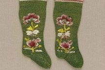 17th and 16th century : Stockings