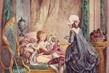 18th century : Servant girls & governesses