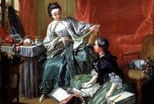18th century : Peignoirs, Morning/Toilette Négligé