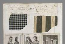18th century - beginning 19th century : carreaux, plaid