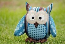 Sew Cute - Softies / by Michelle Naugle