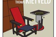 Gerrit Rietveld 1888-1964 / architect en meubelmaker