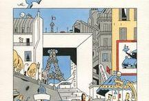 Ever Meulen ( Eddy Vermeulen)1946 / graficus-illustrator