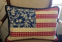 A Patriotic Flair / by Needlepoint.Com
