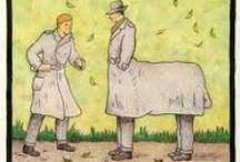 Glen Baxter 1944 / cartoons