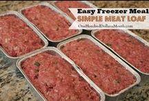 Time-Saving Freezer Recipes / #FrigidaireTimeSavingFreezerRecipesSweepstakes