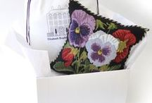 Needlepoint Pillows / Queens Gate needlepoint pillows offer the finest in English tapestry, heirloom quality sofa pillows.