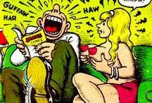 Robert Crumb 1943 / illustrator en striptekenaar