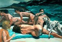 ERIC FISCHI, Amerikaans schilder, 1984 / schilderkunst