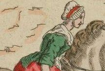 Projet Dame de la Halle 1789