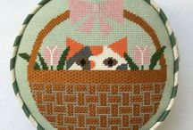 Dog and Cat Needlepoint / Have a favorite feline or a cuddly canine? This board is for all pet lovers.