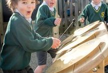 Outdoor Musical Play / Schoolscapes musical range is great for creating outdoor sound or musical sensory area in a playground, sensory garden or communal park. The instruments are easy to play and can be installed individually or in groups to form a whole orchestral! Our Chimes are turned to pentatonic scale.