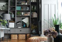 Living space / Beautiful, elegant living spaces.