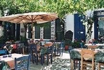 Greek food, customs & traditions / by Effie Parthenios Reyes