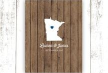 Minnesota Weddings / If you are a Minnesotan, you know how pretty this state can be. Why not have the perfect #Minnesota #Wedding?