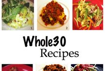 Clean Eating, Paleo, Whole30, Weight Watchers  / by Christine McGee