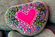 Painting on Rocks