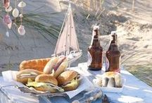 Outdoor Dining / Picnic settings that Brissi loves.