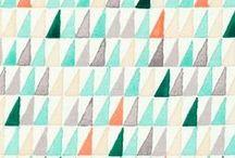 color + patterns. / art inspiration for the blog.