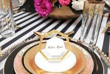 Pink Gold Black Wedding / by Heather Parsons