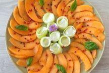 Melon / Recettes de melon.
