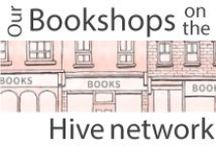 Independent bookshops on Hive / These are all our bookshops who are part of the Hive Network - the only retail website where you can purchase books and other media - and support your local independent bookshop at the same time.  Whilst it's lovely to see them on-screen here, we encourage you as much as possible to go and visit them and continue to support them in your high streets.
