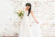 """Say """"YES"""" to the Dress! / Join the online wedding fashion show designed by Menagerie."""