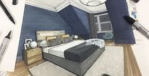 Interior design drawings / Interior design sketches and inspiration