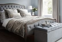 Brissi Bedrooms / Dreamy bedroom inspiration to create a calming and peaceful space that does not compromise on style. The bedroom is where your body recharges and gains energy for the following day, so bedroom decor should make spending time there as enjoyable as possible, creating a calming atmosphere to send you off into a deep slumber.