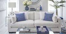 Trend: Riviera Chic / Channel the glamour of the French Riviera with the luxurious pairing of sleek lines & bright, Mediterranean colour.