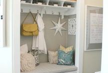 Entryway Organizing Tips / Clever ideas and organizing tips for entry ways that will make a great first impression while totally functional too! / by Molly Hayden Gold