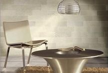 Tile for Living & Dining / Tile Inspiration from our WalkOn Tile Collection