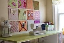 Craft rooms / Workspace / {Interior design ideas, product, storage and furniture inspiration for your workspace and craftroom.}
