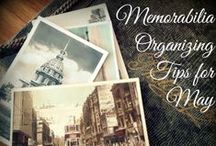 Memorabilia Organizing Tips / Kids Memories, Kids Keepsakes, Kids Memorabilia, Organized Memorabilia, Organized Memories, Organized Keepsakes, Organized Kids  / by Molly Hayden Gold
