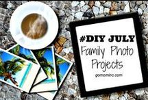 Photo Organizing Tips / Organizing Tips for photo storage both digital and hard copy.  So much to remember, so little time! / by Molly Hayden Gold