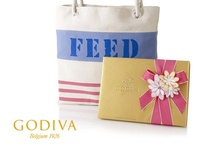 Our Partnership with FEED Projects / GODIVA + FEED....Feeding Children Around the World