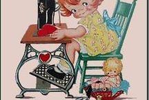 sewing / by Anita Barnaby Reid