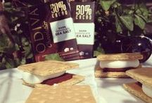 Our Sweet Summer Treats / Long days & carefree nights only have us craving more GODIVA