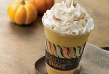 Our Fall Favorites  / As leaves change color, our new crop of GODIVA goodies arrive.