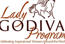Our Lady Godiva Program  / GODIVA proudly introduces the Lady GODIVA Program which celebrates inspirational women around the world.  Our support of extraordinary women who embody the spirit of Lady Godiva through her attributes of selflessness, generosity and leadership will be on both a national and local level.