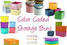 Storage Solutions / Storage solutions for big projects and long term needs. / by Molly Hayden Gold