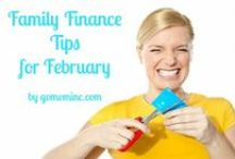 Family Finance Tips / All things Family Finance to help you get and stay organized as you live lean like you are moving.  Part of our year long GO MOM! Organizing Tips series. / by Molly Hayden Gold