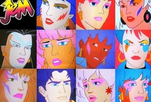 Jem and the Holograms / My FAVORITE cartoon ever made and yes I admit that I'm a wee-bit obsessed!! I have every single season on DVD and I still watch them even though I've seen them a millions times!!  / by Ashley Sutton