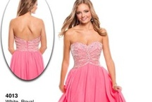 2013 Pink! Pink! Pink!  / The color pink is a softer shade of red. Both the colors pink and red denote love, but while red has a fiery passionate side, pink is more charming and romantic. To make the color pink more sophisticated you can add gray, black or darker shades of blue. Prom Dress Shop has stunning pink 2013 prom dresses that will have you tickled pink!