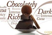 Our Dark Decadence Truffle Flight / Embrace your dark side with our Dark Decadence Truffle Flight #TruffleTakeoff