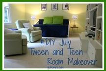Tween and Teen Game Room / Ideas for how to convert your playroom into a tween and teen game and hangout room. / by Molly Hayden Gold